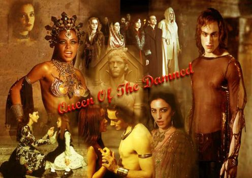 queen of the damned poster by conaira