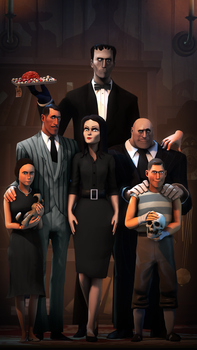 The Addams Team by P0nyStark