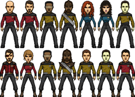 Star Trek TNG The Worst of Both Worlds by SpiderTrekfan616