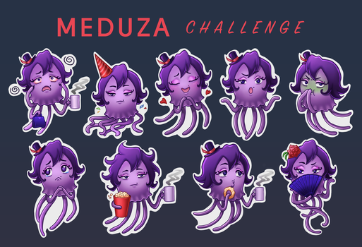 Meduza. October 2016 by yukomia
