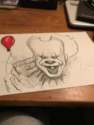 Pennywise (wip)  by Notraz