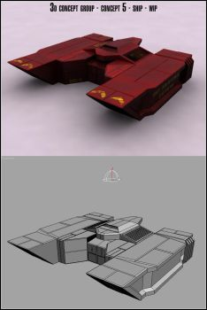 3d concept group - 05 - wip by md1024
