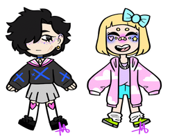 CLOSED-Pastel Chibis by SpaceReame