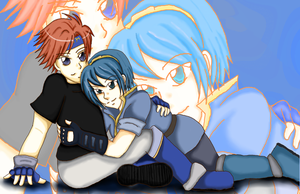o Clingy - Marth + Roy o by khiro