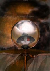 Reflection of Sphere by CottonValent