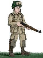 101st Airborne Paratrooper by YugoProductions