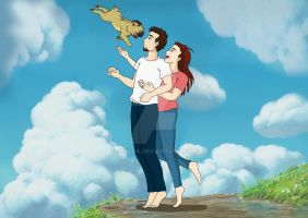 Ponyo the pug comes to our family by Szmira