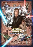 Star Wars Clone Wars in color by ComfortLove