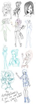 Sketches by lollipopsweet2