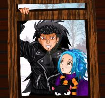 Winter: Gazille and Levy by manu-chann