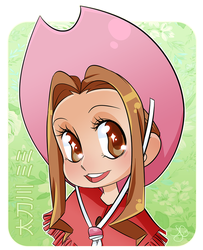 Digimon Adventure: Tachikawa Mimi by Lynntendo-64