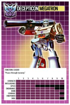 Transformers Top Trumps 2 by PWThomas