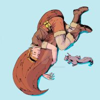 Squirrelgirl Color 72dpi by JoeValentineArt