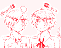 [APH] Spain and Romano by THE-L0LLIP0P