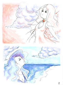 The Sea meet the Sky - Page7 by Cinderell-o