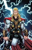 Thor  by Kid-Destructo