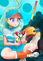 Kahili And Toucannon : Shiny Pikipek Hatched