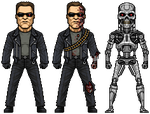 Terminator (T-800) by alexmicroheroes