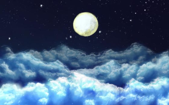 Cloudscape 1 hour speedpaint by trancebam