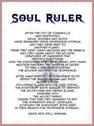 Soul Ruler Prologue by MasterBlaine