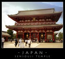 Japan - Sensouji Temple by dark-spider