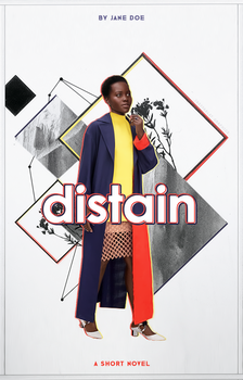 Wattpad Cover - Distain by ineffablely