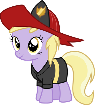 Dinky Doo Firefighter by CloudyGlow