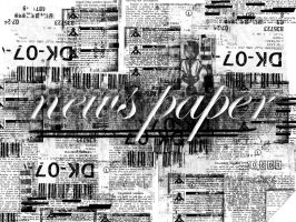 newspaper by exosquelette