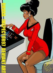 Uhura by Inspector97