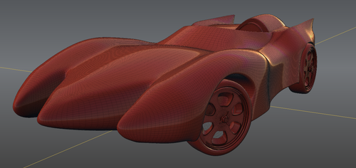The Mach 5 by Eroes
