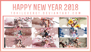 [16/2/2018] PACK SHARE TWICE - HAPPY NEW YEAR 2018 by TokiLeveret