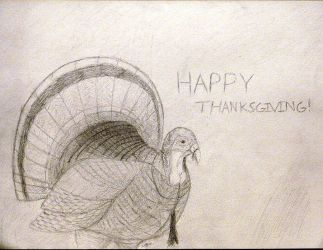Happy Thanksgiving! by ColorCoatedArt