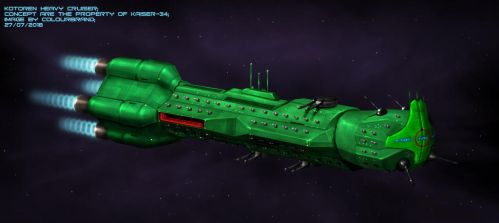 Commissioned: Kotoren Heavy Cruiser by Colourbrand