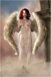 Red Haired Angel by CaperGirl42