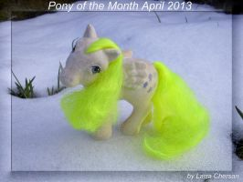 Pony of the Month April 2013 by LarraChersan