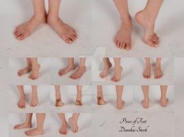 Feet Poses Stock Pack by Danika-Stock