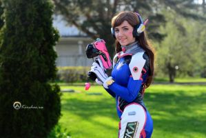MoscowComicCon 2017 - Overwatch D.Va by Kirchos