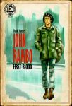 John Rambo, The Pulp Cover by LeoluxArt
