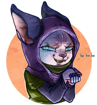 Mean Kitty by ayudash