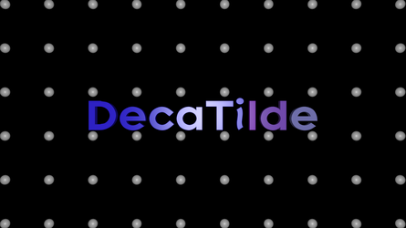 DecaTilde logo by DecaTilde