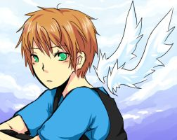 Boy in the Clouds 2 by Sennel
