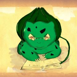 one smart bulbasaur by the-figtree