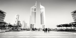 Emirate Towers in Dubai by xMEGALOPOLISx