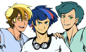 The Boys Are Back by Pikokko