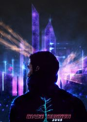 Bladerunner 2049 poster by p1xer