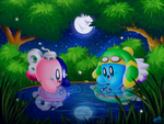 Friendly exploring (Contest entry) by swim-fin