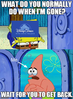 Me Waiting For The Next Disneycember Review by srbarker
