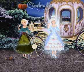 My Cinderella: Illustration 2 by musicmermaid