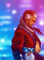 Auron the Loner by crystachick