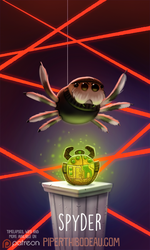 Daily Paint 1608. Spyder by Cryptid-Creations